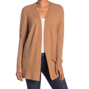 Madewell Cozy Walker Tan Long Cardigan Size Small